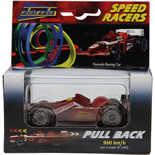 DARDA Formula 1 Racing Car, Red