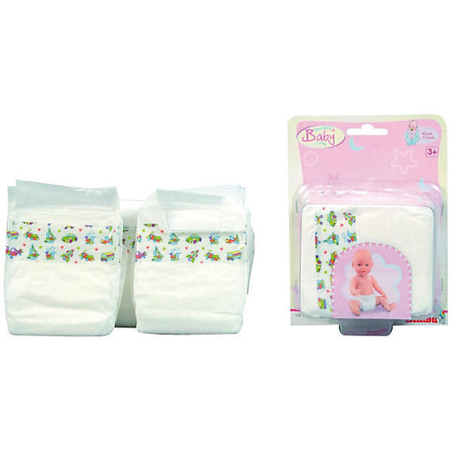 Baby Doll Nappies, 35-50 cm