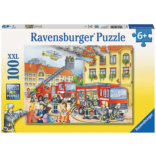 XXL Jigsaw Puzzle - 100 Pieces - Our Fire Brigade