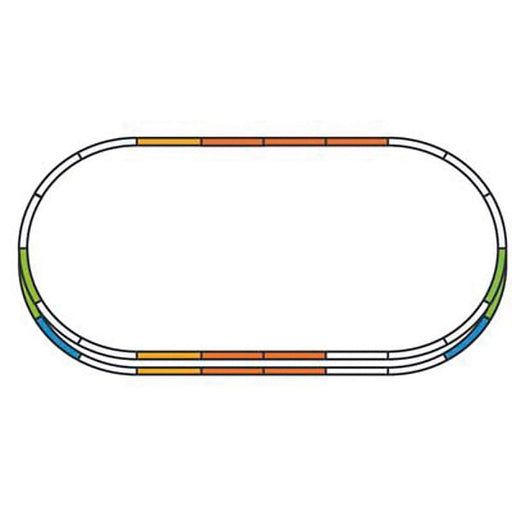 PIKO H0 Gauge Track Extension Set: E