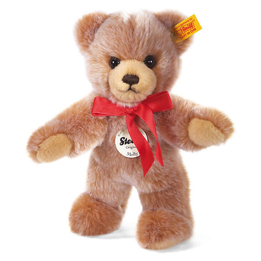 Steiff Molly Teddy Bear, Light-Brown Pricked, 24 cm