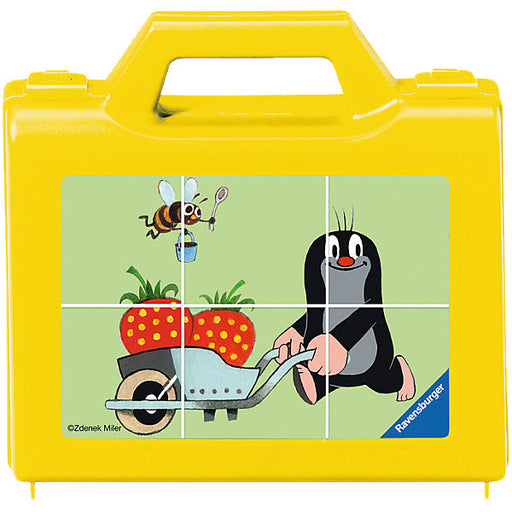 6 Piece Dice Jigsaw Puzzle: Little Mole in the Garden