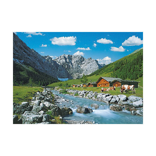 Jigsaw - 1000 Pieces - Austrian Mountains