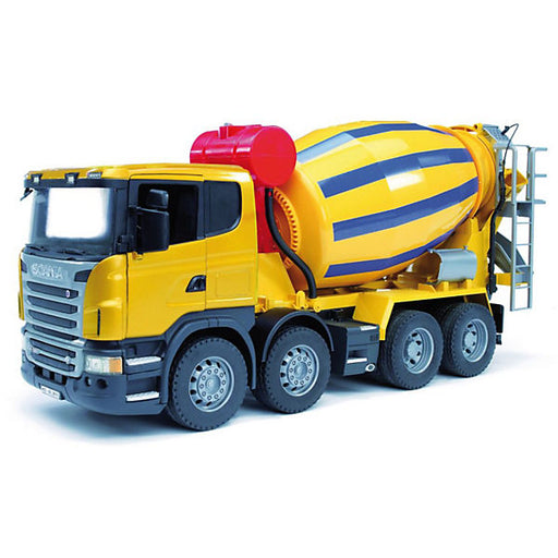 BRUDER 03554 Scania Cement Mixer Truck