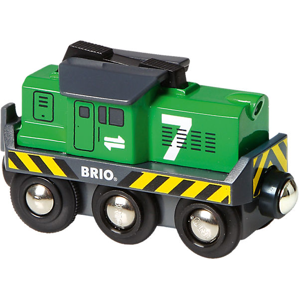 BRIO 33214 Battery-Powered Freight Engine