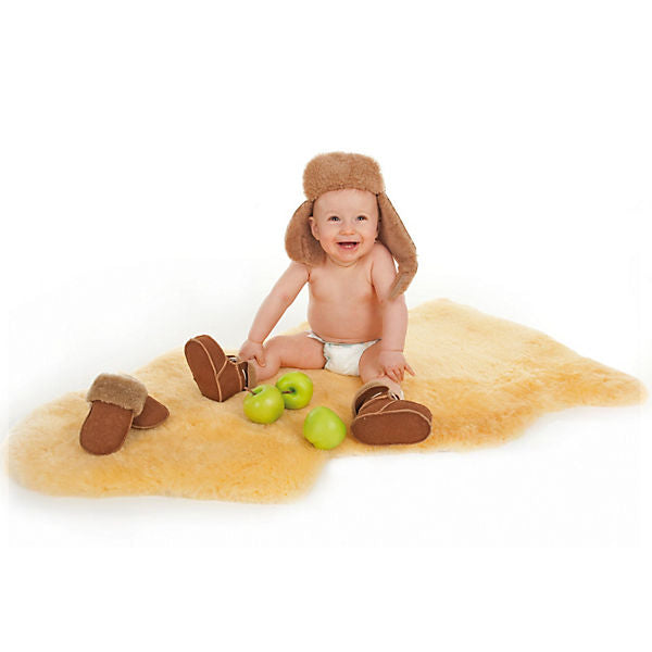 Sheepskin rugs for babies, 90 - 100 cm