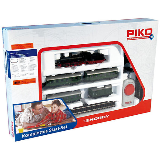 Starter Set Passenger Train with Steam Locomotive G7 and 4 Passenger Cars