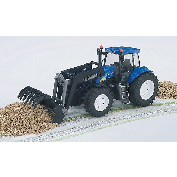 BRUDER 03021 New Holland T8040 Tractor with Front Loader