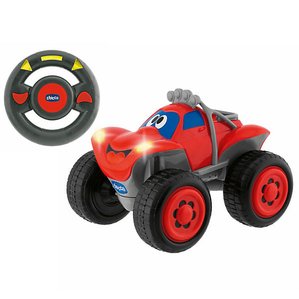 CHICCO Billy Big Wheels Remote-Controlled Car, Red
