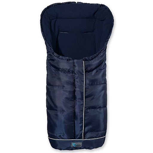 Fleece Foot Muff with Reflective Stripes and ABS, Marine