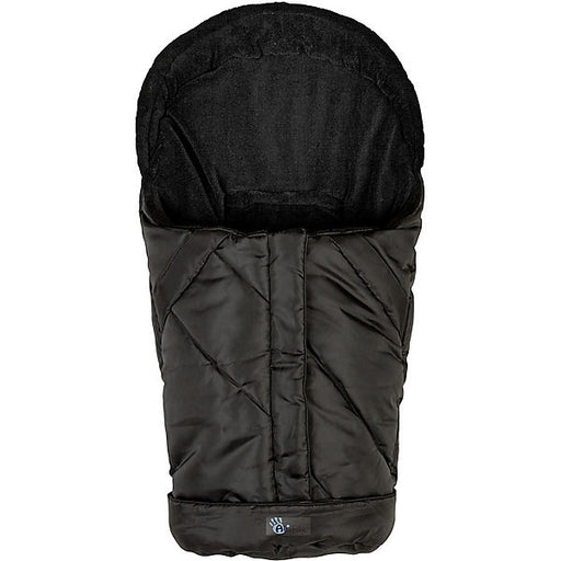 Fleece Foot Muff for Baby Carrier, Black