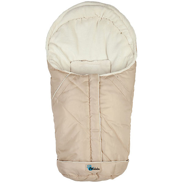 Fleece Foot Muff for Baby Carrier, Beige