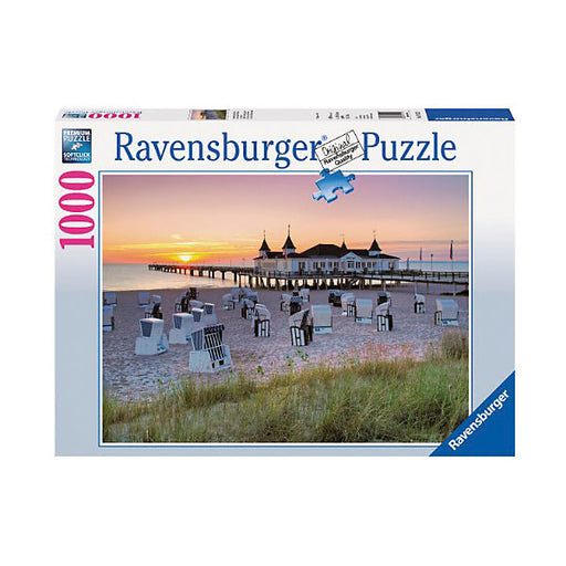 Baltic Sea Beach Resort, Usedom - 100 Piece Puzzle