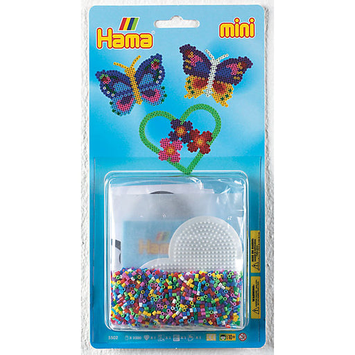 "HAMA Mini Beads Kit blister ""Butterflies"""