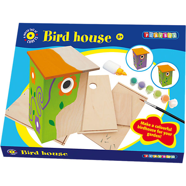 Craft set, bird house