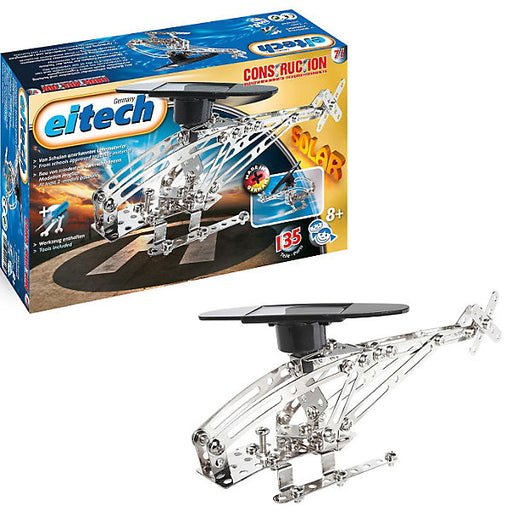 metal construction set C71 solar helicopter