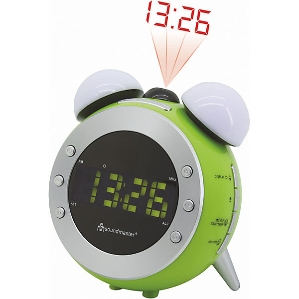 PLL Clock radio with Dimmer and Wake-up / Nightlight