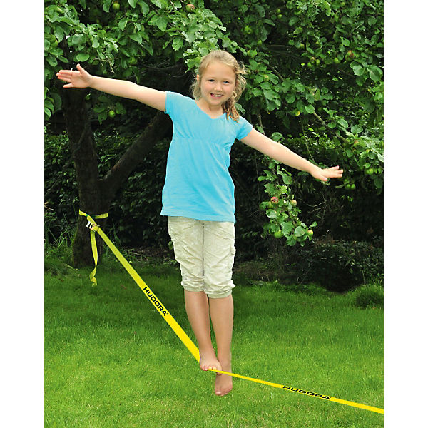 Slackline with tree guard