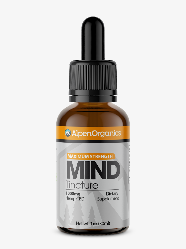 Alpen Organics Mind (Tincture) 1000mg