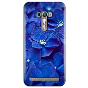 ASUS Zenfone Selfie Mobile Covers Cases Blue flower - Lowest Price - Paybydaddy.com