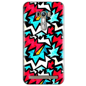 ASUS Zenfone Selfie Mobile Covers Cases Colored Design Pattern - Lowest Price - Paybydaddy.com