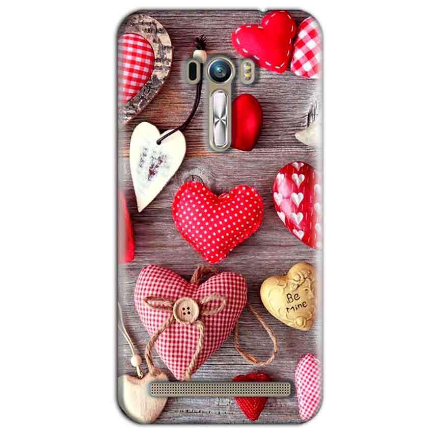 ASUS Zenfone Selfie Mobile Covers Cases Hearts- Lowest Price - Paybydaddy.com