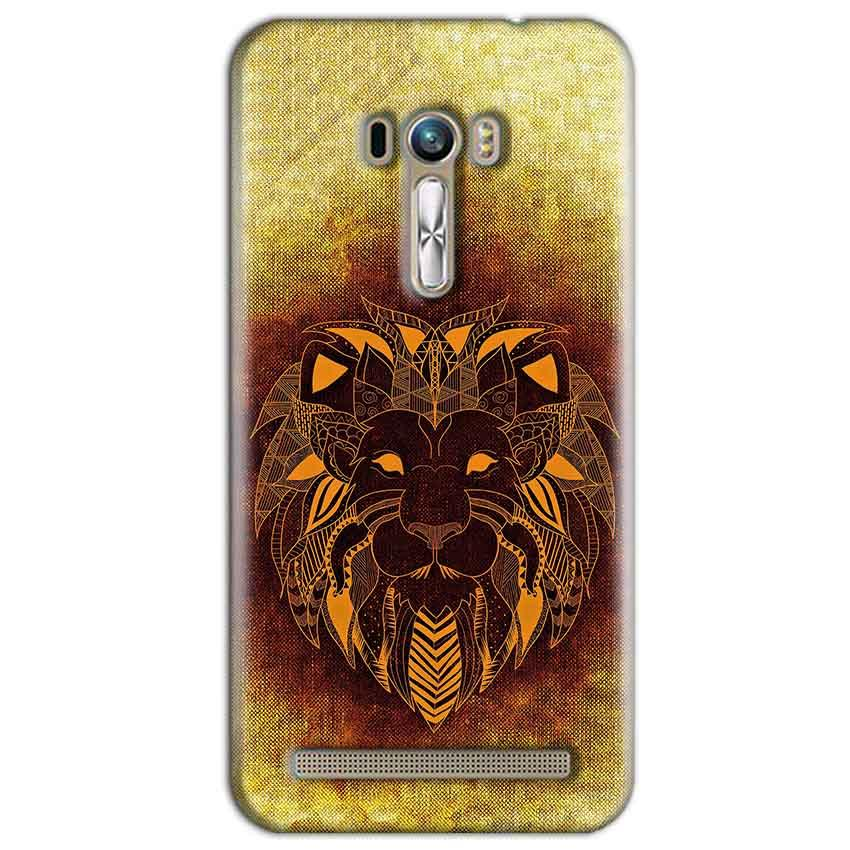 ASUS Zenfone Selfie Mobile Covers Cases Lion face art - Lowest Price - Paybydaddy.com