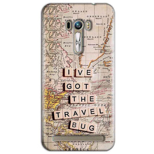 ASUS Zenfone Selfie Mobile Covers Cases Live Travel Bug - Lowest Price - Paybydaddy.com