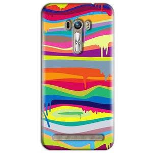 ASUS Zenfone Selfie Mobile Covers Cases Melted colours - Lowest Price - Paybydaddy.com