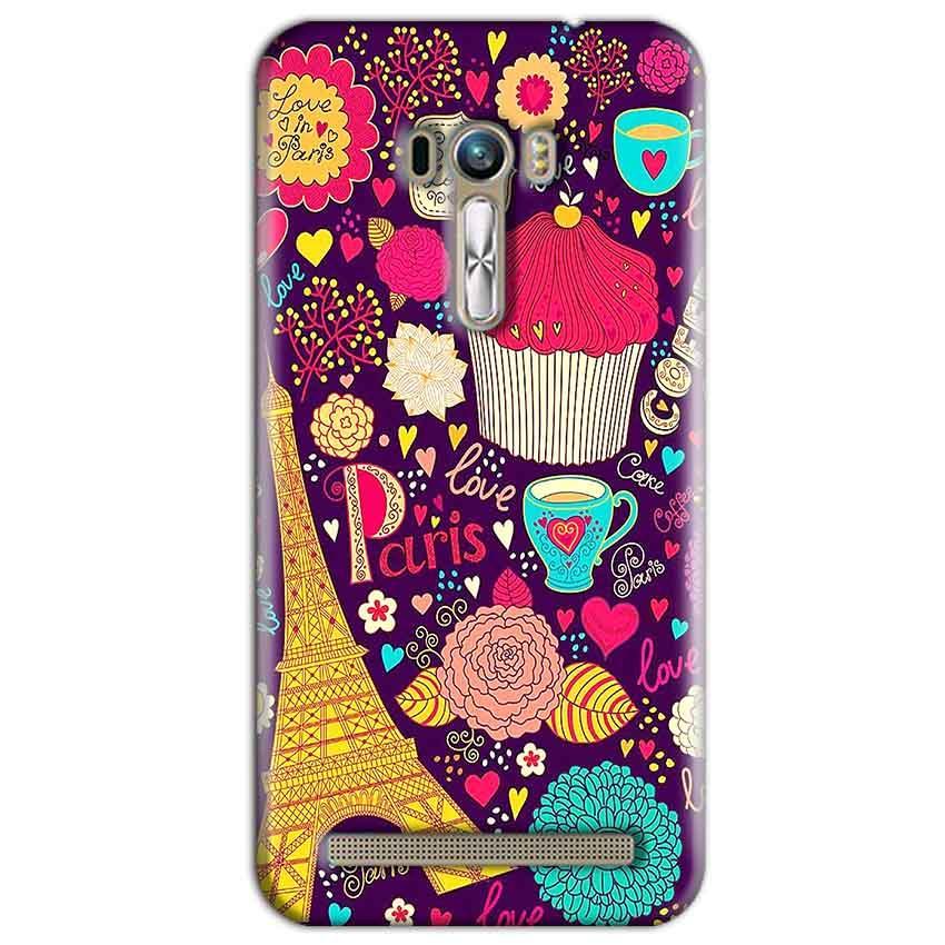 ASUS Zenfone Selfie Mobile Covers Cases Paris Sweet love - Lowest Price - Paybydaddy.com