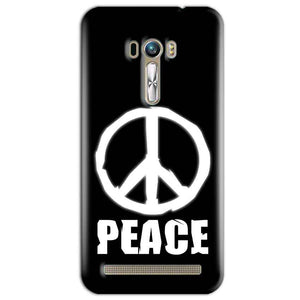 ASUS Zenfone Selfie Mobile Covers Cases Peace Sign In White - Lowest Price - Paybydaddy.com