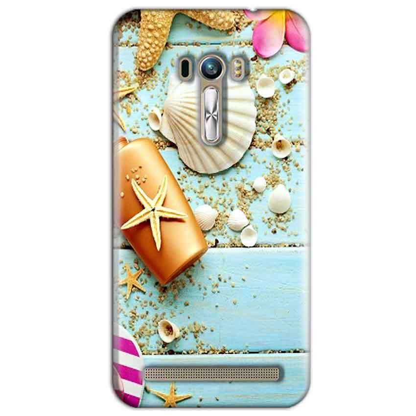 ASUS Zenfone Selfie Mobile Covers Cases Pearl Star Fish - Lowest Price - Paybydaddy.com