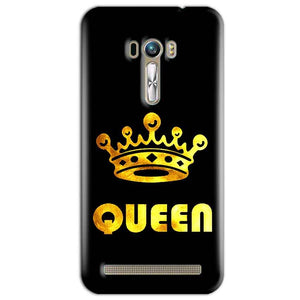ASUS Zenfone Mobile Covers Cases Selfie Mobile Covers Cases Queen With Crown in gold - Lowest Price - Paybydaddy.com