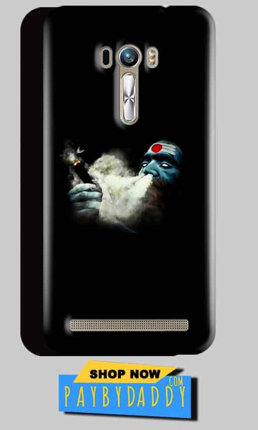 ASUS Zenfone Selfie Mobile Covers Cases Shiva Aghori Smoking - Lowest Price - Paybydaddy.com