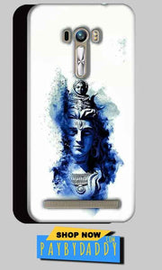 ASUS Zenfone Selfie Mobile Covers Cases Shiva Blue White - Lowest Price - Paybydaddy.com