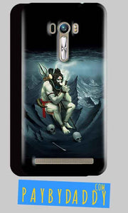 ASUS Zenfone Selfie Shiva Smoking Mobile Back Cover Case