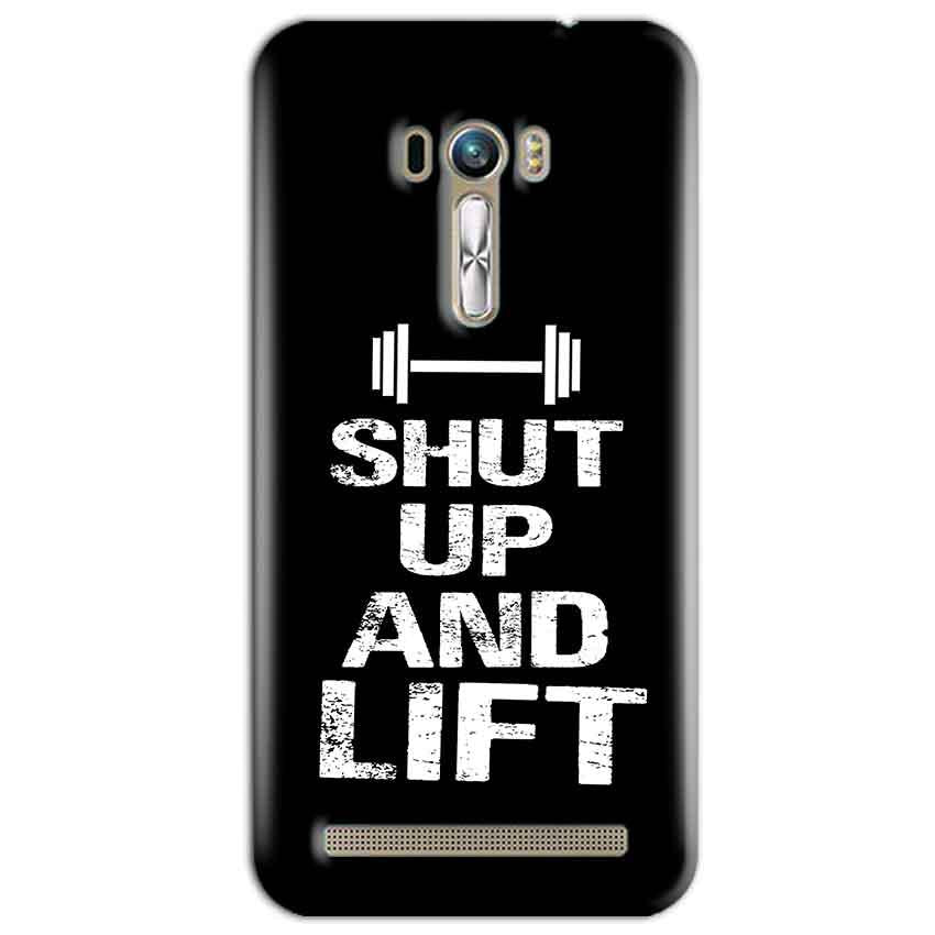 ASUS Zenfone Selfie Mobile Covers Cases Shut Up And Lift - Lowest Price - Paybydaddy.com