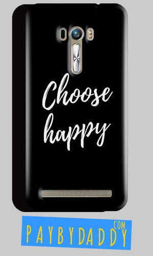 ASUS Zenfone Selfie Mobile Covers Cases Choose happy - Lowest Price - Paybydaddy.com