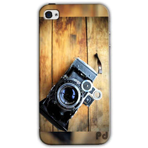 Apple iPhone 4 Mobile Covers Cases Camera With Wood - Lowest Price - Paybydaddy.com