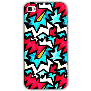 Apple iPhone 4 Mobile Covers Cases Colored Design Pattern - Lowest Price - Paybydaddy.com