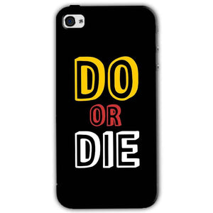 Apple iPhone 4 Mobile Covers Cases DO OR DIE - Lowest Price - Paybydaddy.com