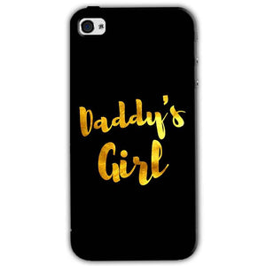 Apple iPhone 4 Mobile Covers Cases Daddys girl - Lowest Price - Paybydaddy.com