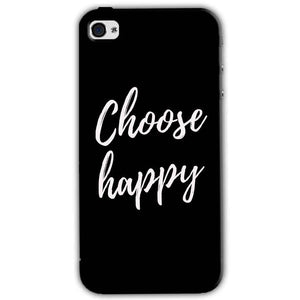 Apple iPhone 4 Mobile Covers Cases Choose happy - Lowest Price - Paybydaddy.com