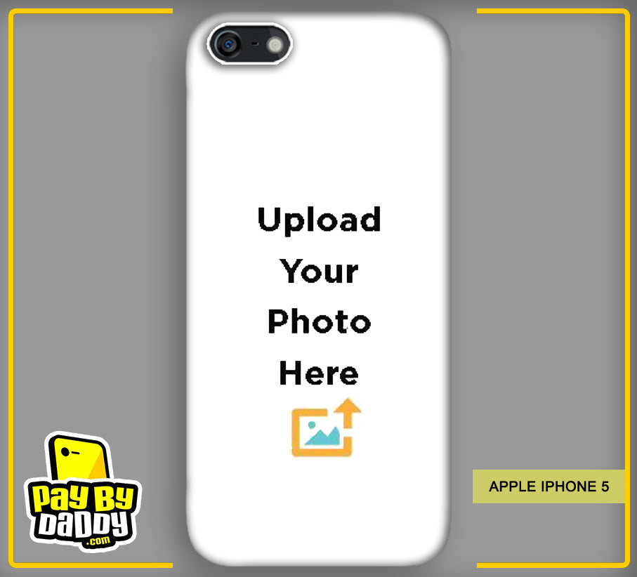 Customized Apple iphone 5 5s Mobile Phone Covers & Back Covers with your Text & Photo