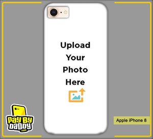Customized Apple iphone 8 Mobile Phone Covers & Back Covers with your Text & Photo