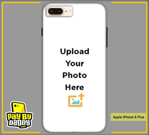Customized Apple iphone 8 Plus Mobile Phone Covers & Back Covers with your Text & Photo