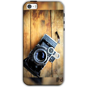 Apple iPhone SE Mobile Covers Cases Camera With Wood - Lowest Price - Paybydaddy.com