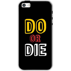Apple iPhone SE Mobile Covers Cases DO OR DIE - Lowest Price - Paybydaddy.com