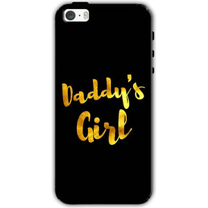 Apple iPhone SE Mobile Covers Cases Daddys girl - Lowest Price - Paybydaddy.com