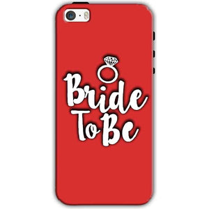 Apple iPhone SE Mobile Covers Cases bride to be with ring - Lowest Price - Paybydaddy.com